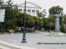 Памятник Коцюбинскому.avi